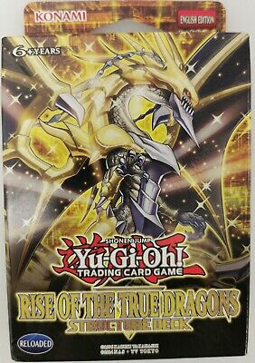 Yu-Gi-Oh! Structure Deck - Rise Of The True Dragons 1st Edition. • 17.99£