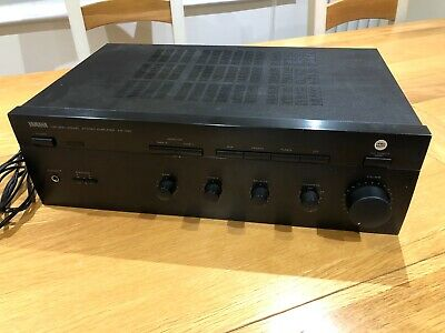 Yamaha AX-390 Natural Sound 150W Stereo HiFi Amplifier - Good Condition • 150£