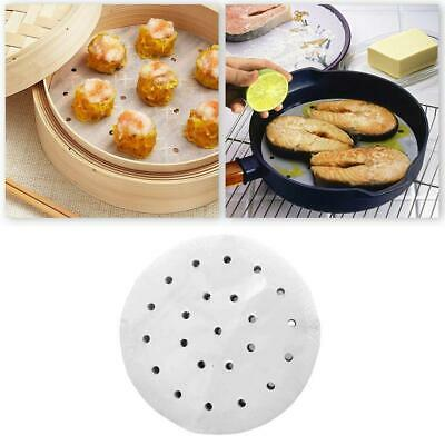 3-12 Inch Non Stick Perforated Parchment Paper Liners For Steaming Air Fryer NEW • 4.83£