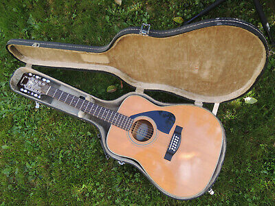 Belle Guitar 12 Strings Folk Yamaha FG-420-12 Dreadnought+Vintage Case • 340.67£