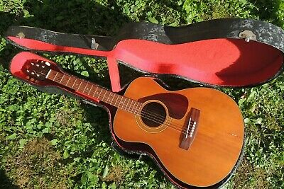 Vintage 70' Fg 110 Belle Guitar 6 Strings Folk Yamaha Japanvalise Rare Mint • 369.87£