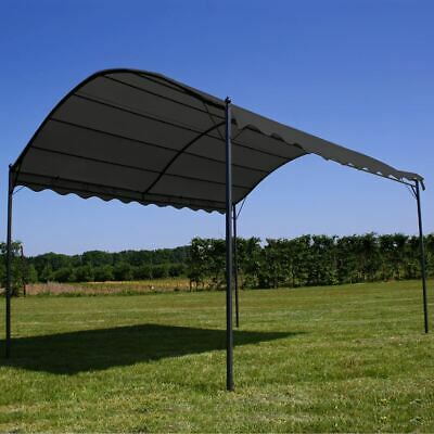 AU217.95 • Buy Steel Frame Gazebo Retractable Canopy Outdoor Garden Shade 3x4m Water Resistant