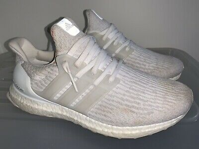 AU89 • Buy ADIDAS Ultraboost Ultra Boost 3.0 Triple White Sneakers US 9 #18420