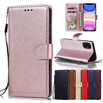 AU9.99 • Buy For IPhone 12 11 Pro XS Max 8 7 Plus 6 6S XR X Flip Wallet Leather Case Cover