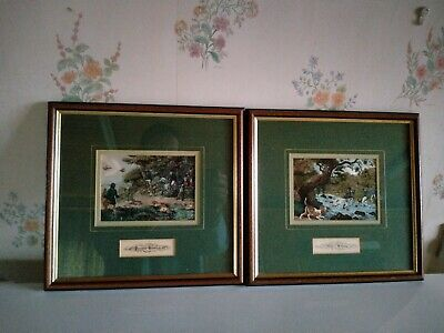 £50 • Buy 2 Silk Prints Based On Samuel Howitt Engravings.Price Is For The Two Pictures.