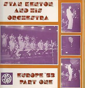 STAN KENTON AND HIS ORCHESTRA Europe Fifty Three Part One LP VINYL UK First • 5.24£