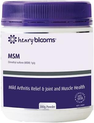 AU54.83 • Buy Blooms MSM Powder 300g