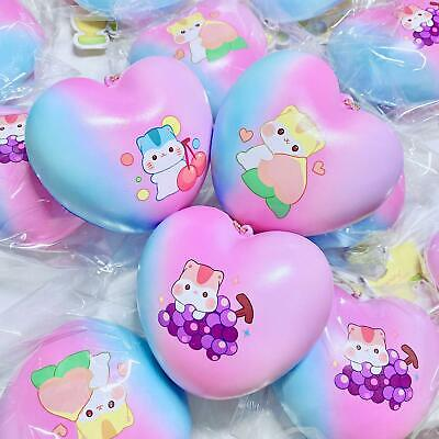 AU5.81 • Buy Poli Bun Squishy Popularboxes Galaxy Aurora Fruit Jumbo Heart Bun Squishy NEW
