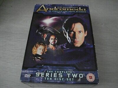 ( Andromeda The Complete Second Series 2 ) - Dvd Set - Season Two • 7.94£