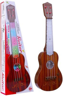 Childrens Kids Childs Easy Play Toy Musical Guitar In Retail Box New • 8.49£