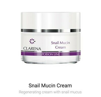 £27.99 • Buy Clarena Poison Snail Mucin Regenerating Face Cream With Snail Mucus 50ml