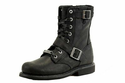 $ CDN135.43 • Buy Harley Davidson Men's Ranger Black Motorcycle Boots Shoes D95264 - Free Shipping