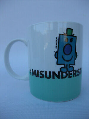 MR GRUMPY Mug #misunderstood Paladone Licensed Roger Hargreaves 300ml Brand New • 5£