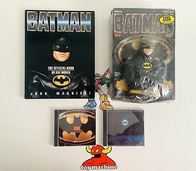 Batman Original Picture Soundtrack Cd & Score & Official Book Cereal And Bank • 28.94£