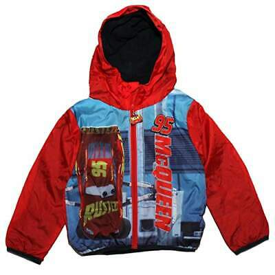 Disney Cars Boys Hoodie Jacket Impermeable Raincoat • 19.79£