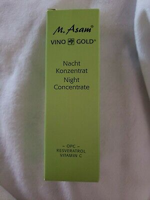 $12 • Buy New M. Asam Vino Gold Night Concentrate 1.01 Oz