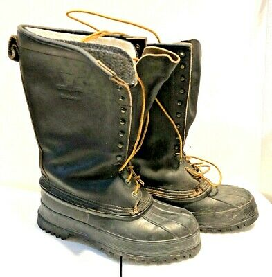 LaCrosse  Big Mountain  Brown Leather Snow Winter Mens Work Hunting Boots Sz 10 • 71.64£