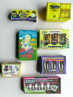 £4.98 • Buy Miniature EASTER Basket Candy Items Bunny Peeps Carrots Cadbury 5 To Pick From