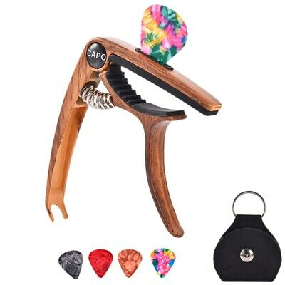 $ CDN12.63 • Buy Guitar Capo For 6/12 String Acoustic And Electric Guitars Bass Ukulele Mand N5X1