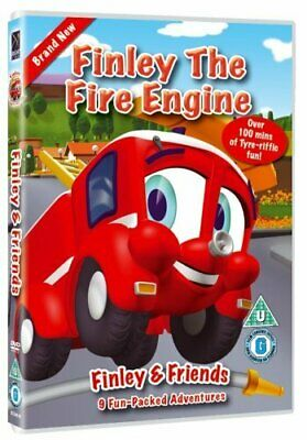Finley The Fire Engine (DVD) (2008) • 1.79£