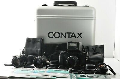 $ CDN5699.08 • Buy 【Near Mint】 Contax G2 Black , Top Mint 28mm 45mm 90mm Lens TLA200   From Japan