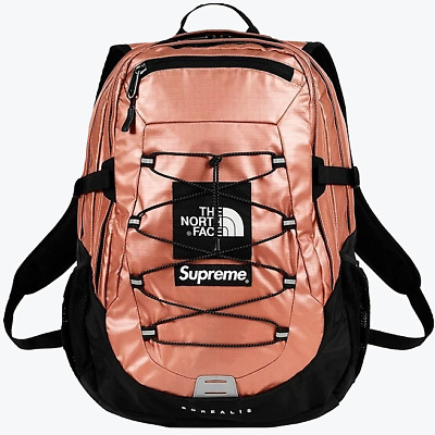 $ CDN414.48 • Buy Supreme X The North Face Metallic Borealis Rose Gold Backpack O/S SS18