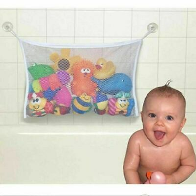 Baby Bath Room Shower Toy Bag Net Tidy Storage Tile Suction Cup Organiser 45x35 • 3.25£