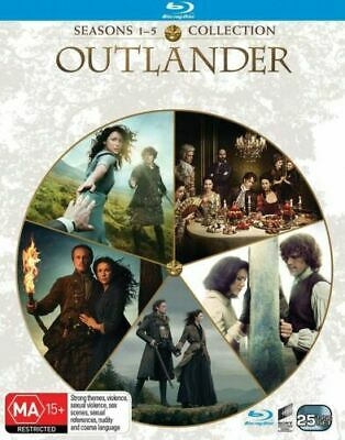 AU94.99 • Buy Outlander Seasons 1-5 Blu-ray BRAND NEW Region B 1 2 3 4 5