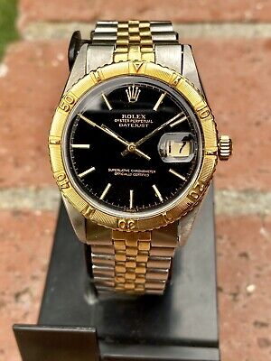$ CDN5605.53 • Buy Rolex Thunderbird Turn O Graph Vintage From 1971 Ref 1625 Automatic Gold & Steel