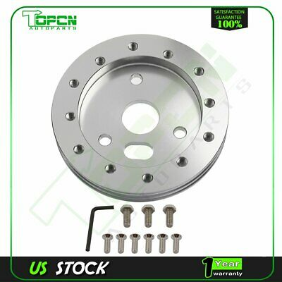 $11.89 • Buy 0.5  Steering Wheel Hub Adapter Spacer 6 Hole Fit For Grant APC 3 Hole
