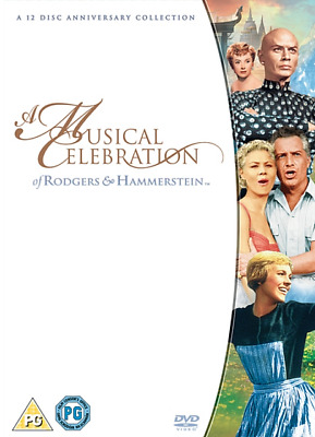 £10.99 • Buy Rodgers And Hammerstein Musicals DVD Box Set Brand New & Sealed
