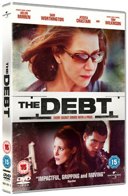 The Debt Every Secret Comes With A Price (DVD) New (2012) Helen Mirren • 2.88£