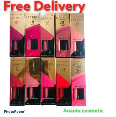 £5.90 • Buy Brand New MAX FACTOR LIPFINITY 24HR LIPSTICK #CHOOSE SHADE Free Delivery 🚚  Uk