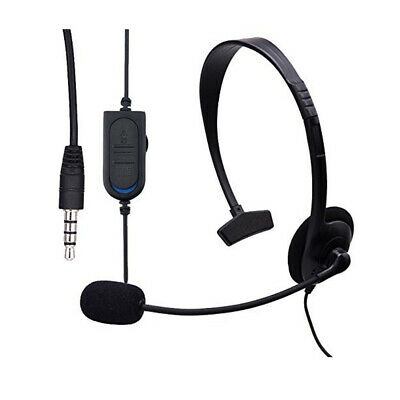 AU16.95 • Buy Single Side 3.5mm Gaming Headset With Microphone For PC Laptop Sony PS4 Xbox One