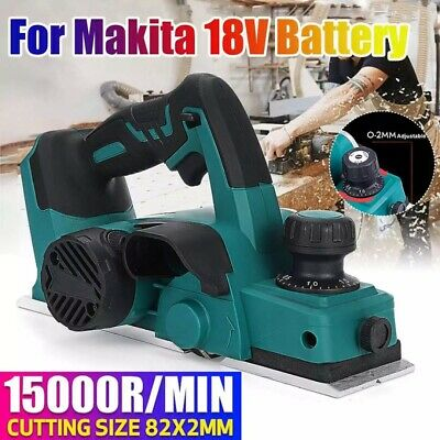 15000rpm 18V  Rechargeable Cordless Electric Planer Handheld For Makita Battery • 69.99£