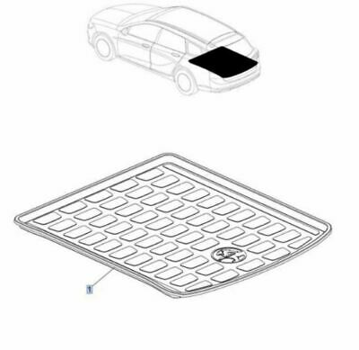 AU286.20 • Buy Genuine Holden ZB Commodore Sportswagon Luggage Compartment Liner For AWD