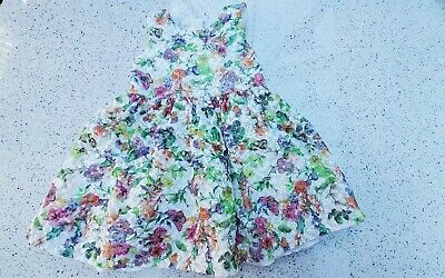 JOHN ROCHA (debenhams) FLORAL SUMMER DRESS GIRLS 3-4 YEARS  • 3.50£