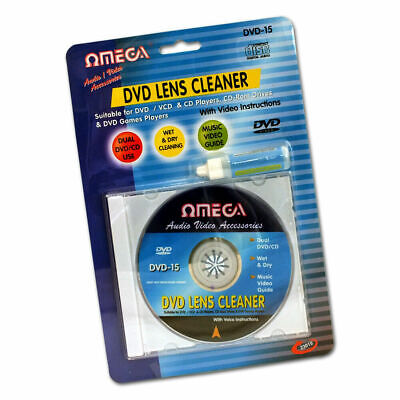 £3.95 • Buy Laser Lens Cleaner Disc Cleaning Kit For Dvd Cd Vcd Xbox Ps3 & Blu Ray Players