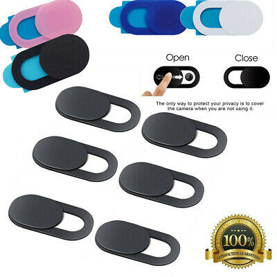$ CDN7.01 • Buy 3/6 PCS WebCam Cover Slide Camera Privacy Security Protect Sticker Phone Laptop