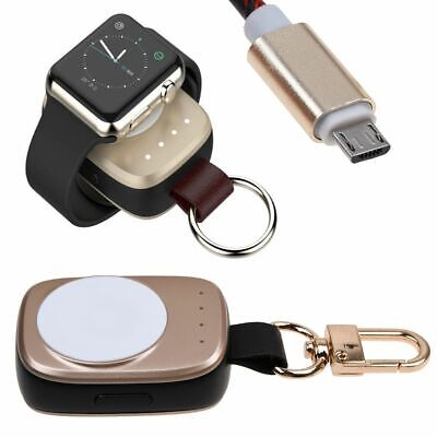 $ CDN26.05 • Buy Portable Magnetic Wireless Pocket Charger Keychain For Apple Watch Series 3 2 1