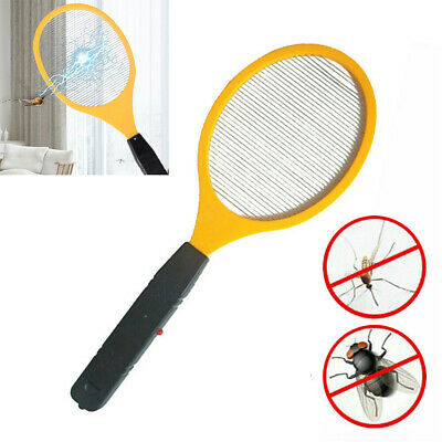 ELECTRIC FLY INSECT ZAPPER RACKET Killer Swatter Bug Mosquito Wasp Electronic- • 5.85£