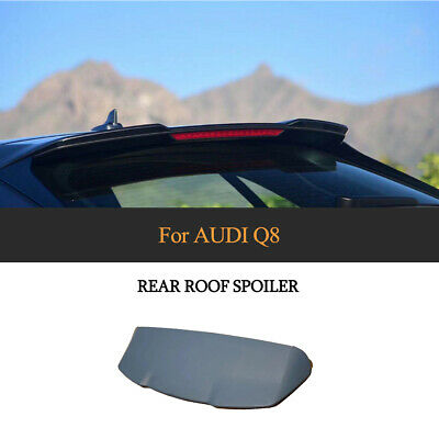 $ CDN560.48 • Buy Matt Black ABS Rear Roof Spoiler Top Wing Fit For AUDI Q8 2019UP Window Trim