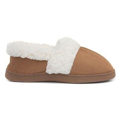 The Slipper Company Womens Beige Full Slipper With Fleece Lining And Flat Sole • 7.99£