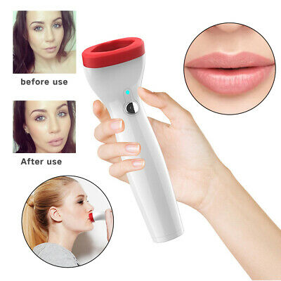 Electric Lip Enhancer Plumper Device Fuller Thicker Lips Suction Tool UK STOCK • 15.99£