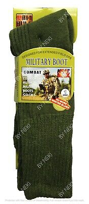 Mens Military Socks Long Thick Thermal Hiking Walking Army Combat Boots 1 Pair  • 4.98£
