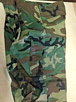 $39.95 • Buy New GI Issue Woodland Camouflage M65 Field Pants -  Med/Reg