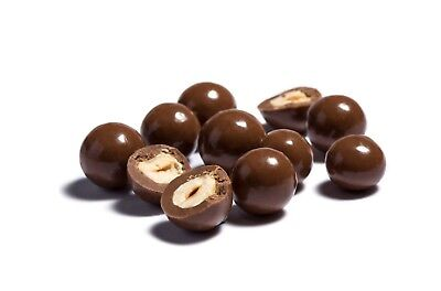 100G Sugar Free Milk Chocolate Hazelnuts Diabetic Sweets Vegetarian • 5.95£