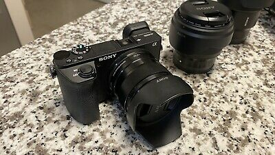 $ CDN3000 • Buy Sony A6500 With Lenses In Very Good Condition!