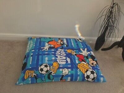 £29.99 • Buy Mickey Mouse Beanbag Floor Cushion Filled Large 3cf Size Ideal Christmas Gift