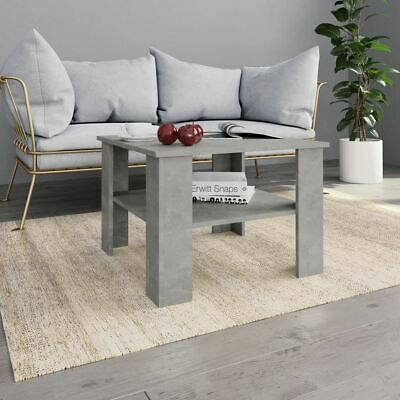 AU69.95 • Buy Coffee Table Modern Living Room Furniture With Storage Shelf Square Top 60cm